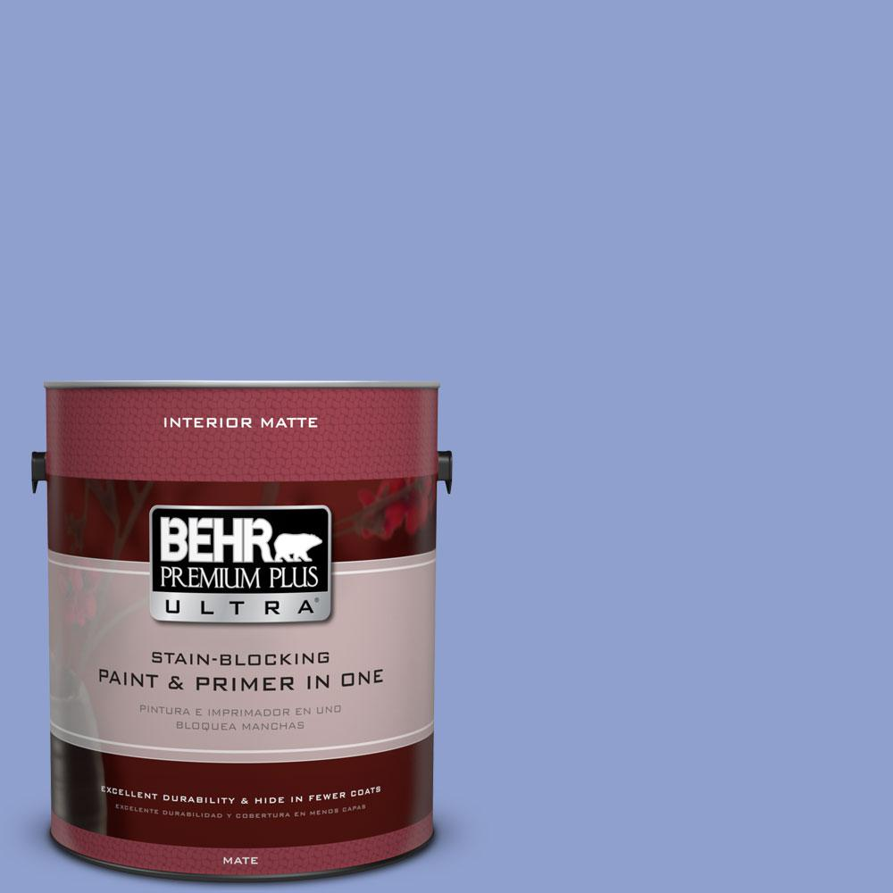 1 gal. #600B-4 Pageant Song Flat/Matte Interior Paint