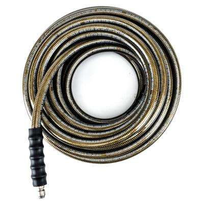 3/8 in. x 50 ft. 4500 PSI MAX Pressure Washer Replacement/Extension Hose with Quick Connect Fittings