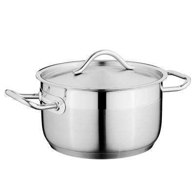 Hotel 2.6 Qt. Stainless Steel Covered Casserole