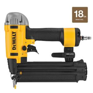 Deals on DEWALT 18-Gauge Pneumatic Corded Brad Nailer