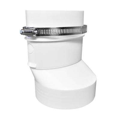 4 in. Round to Oval Dryer Duct Adapter
