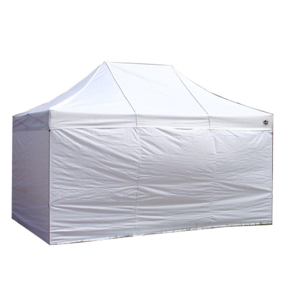 King Canopy Festival 10 ft. W x 15 ft. D Sidewall Kit (4  sc 1 st  Home Depot & King Canopy Festival 10 ft. W x 15 ft. D Sidewall Kit (4-Pack ...