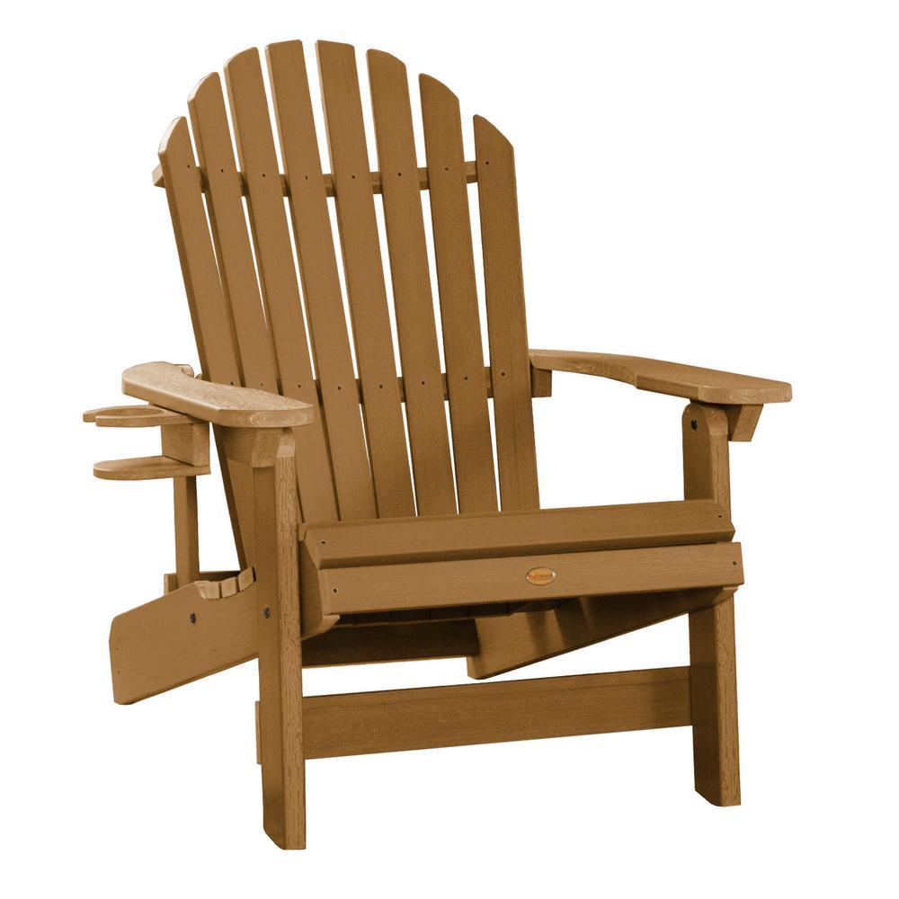 King Hamilton Toffee 2-Piece Plastic Patio Seating Set