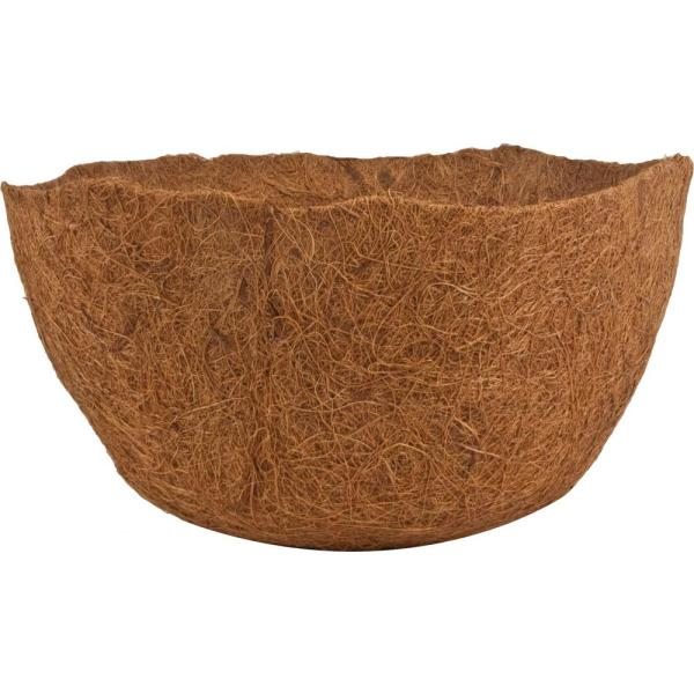 12 in. AquaSav Coconut Liner for hanging baskets (3-Pack)