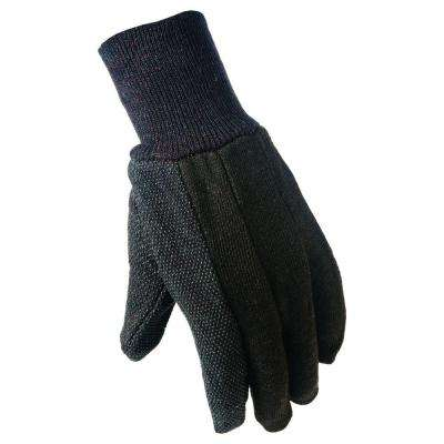 Medium Brown Cotton Jersey with Mini- DotsGloves