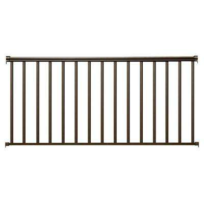 8 ft. x 42 in. Bronze Aluminum Baluster Railing Kit