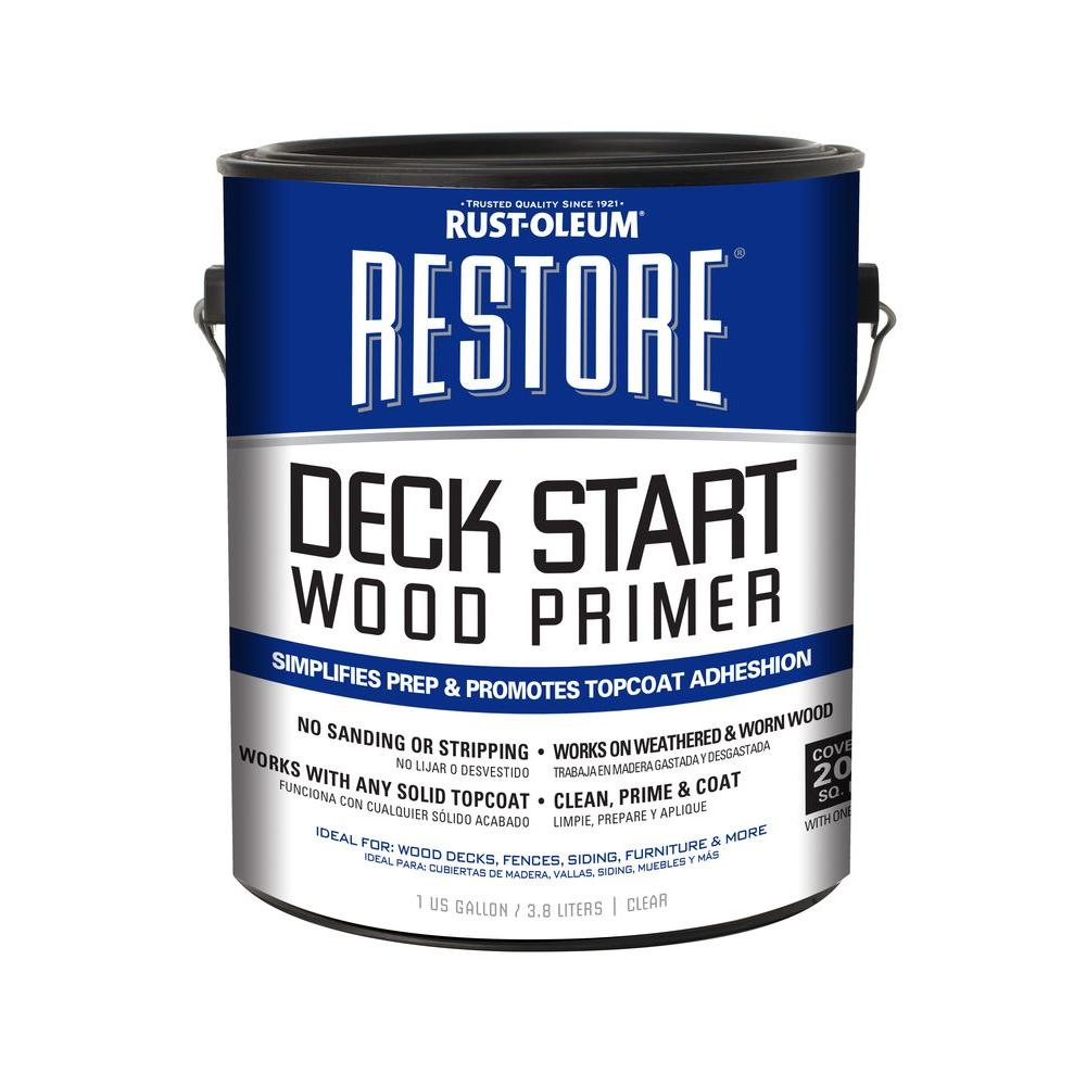 Rust-Oleum Restore 1 gal. Deck Start Wood Primer