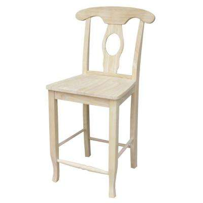 International Concepts 24 inch Unfinished Wood Bar Stool by Wooden Bar Stools