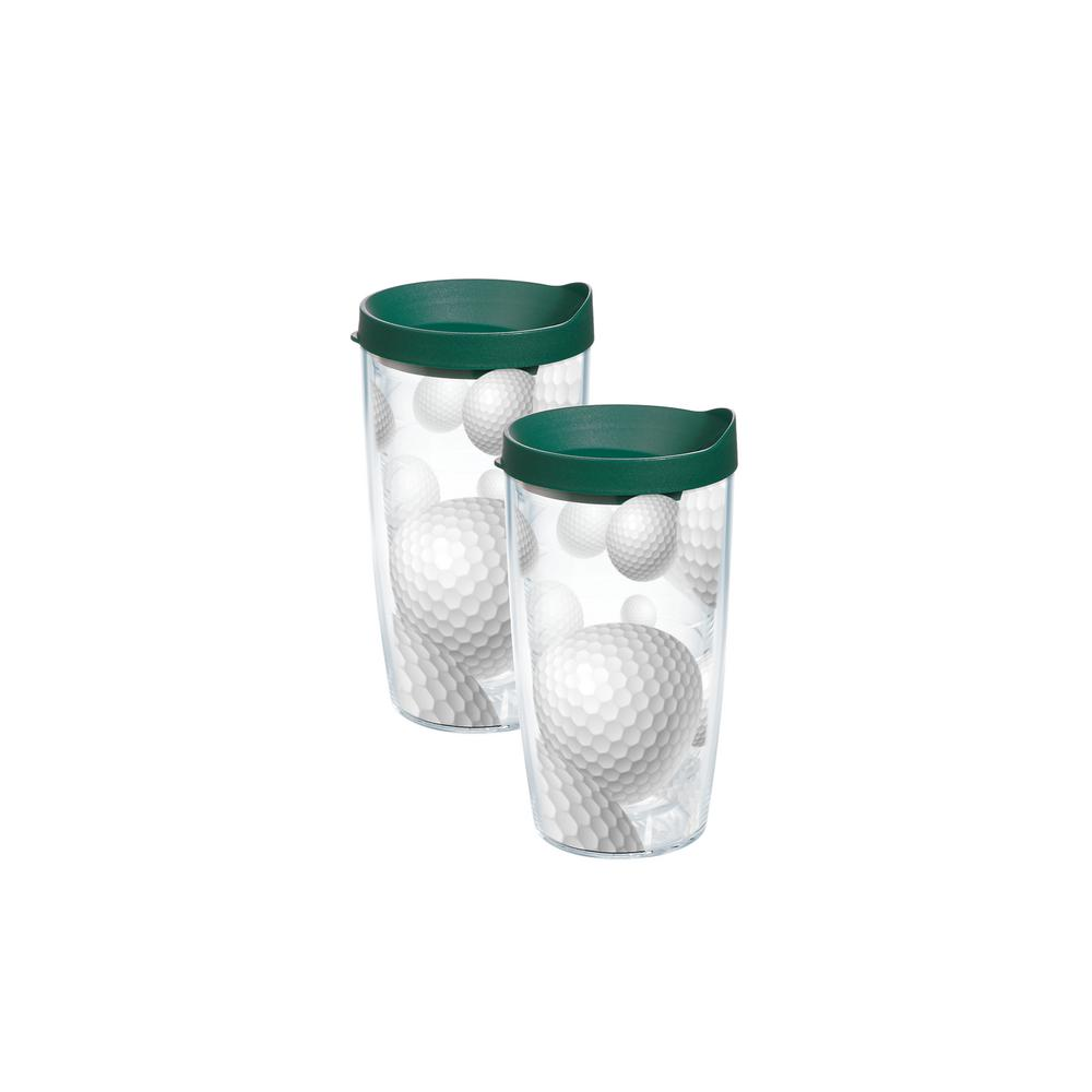 Tervis 16 Oz Golf Tumblers 2 Pack