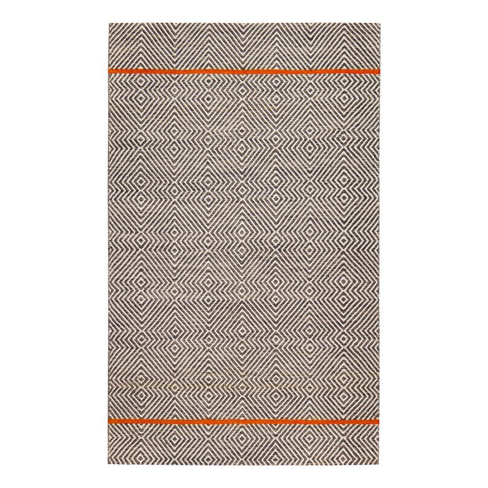 Anansi Natural Fiber Brown 8 ft. x 10 ft. Flat Weave Area Rug