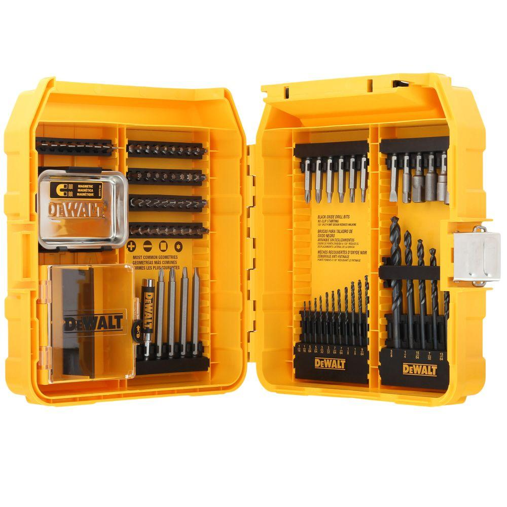 Convenient homemade storage cabinet for drills, bits and cutters