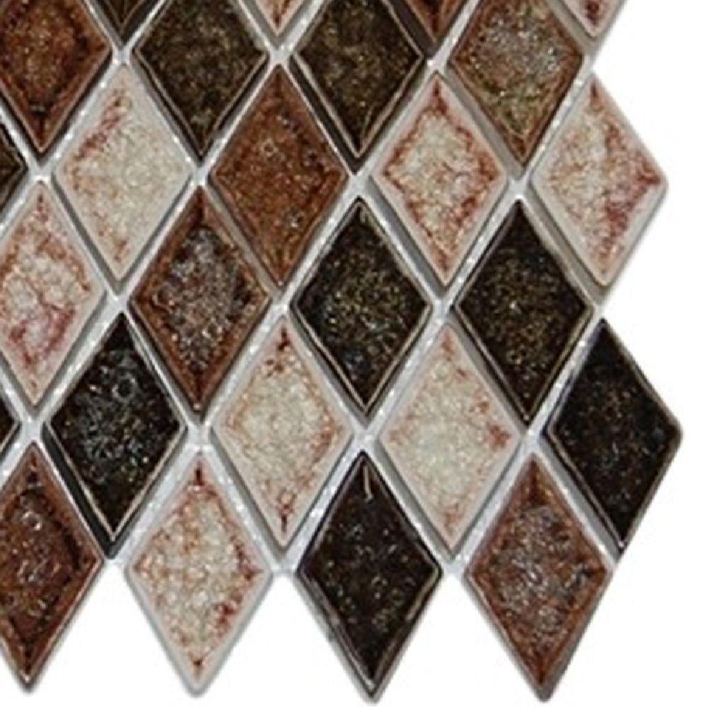 Splashback tile roman selection il fango diamond 3 in x 6 in x 8 splashback tile roman selection il fango diamond 3 in x 6 in x 8 mm glass mosaic floor and wall tile sample r2d1 backsplash tile the home depot dailygadgetfo Images