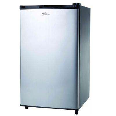 4.0 cu. ft. Mini Refrigerator in Stainless Steel