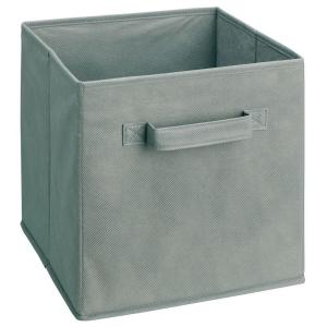 ClosetMaid Cubeicals 11 inch H x 10.5 inch W x 10.5 inch D Fabric Storage Bin in Gray by ClosetMaid
