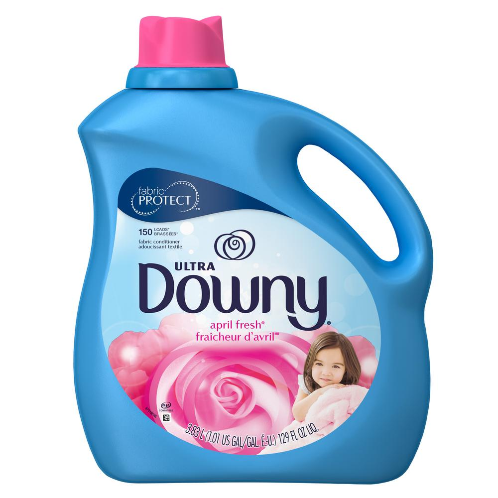 Downy 129 oz. April Fresh Liquid Fabric Softener (150-Loads)