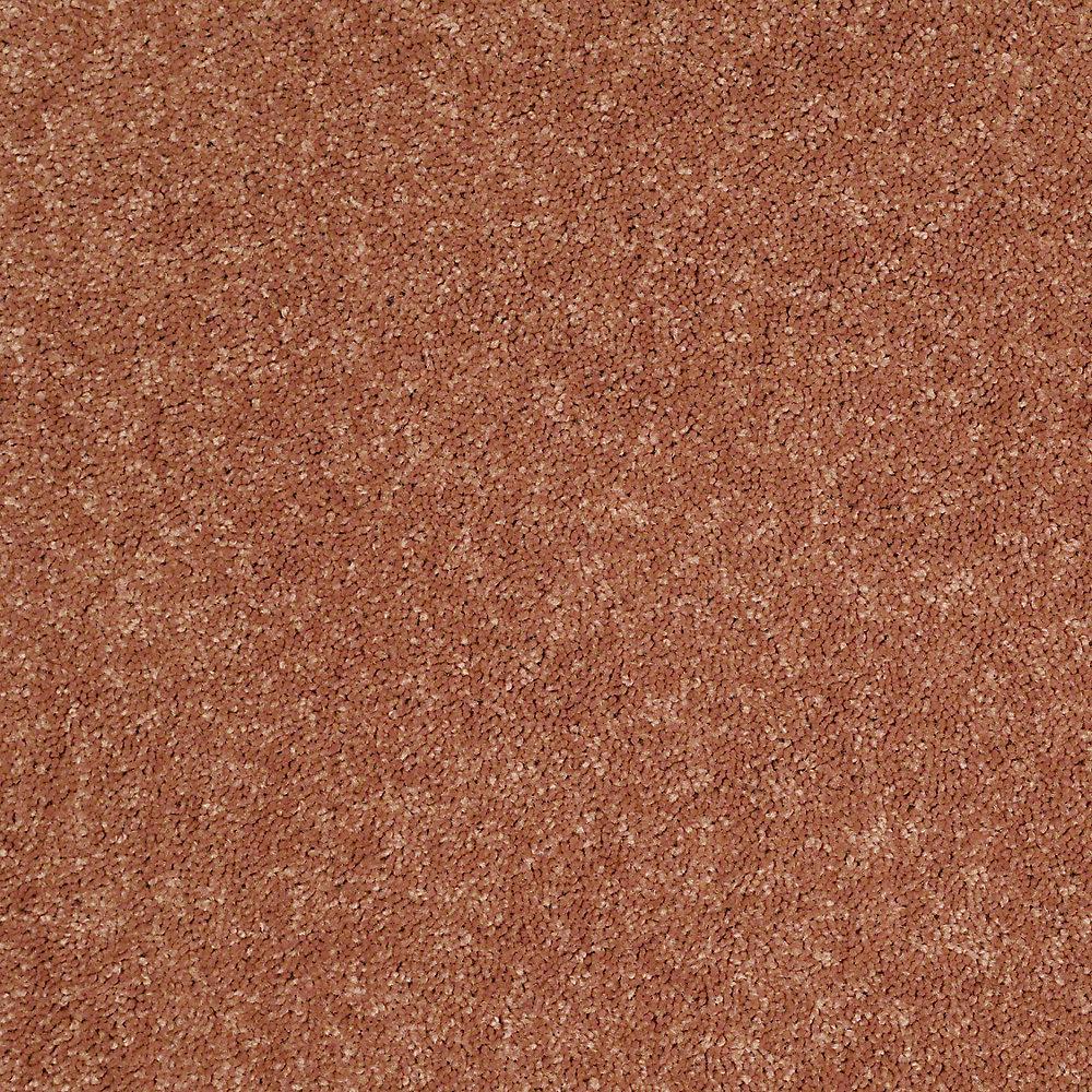 Carpet Sample - Watercolors II 12 - In Color Copper Texture 8 in. x 8 in.