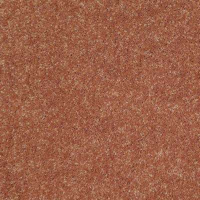 Carpet Sample - Watercolors I 12 - In Color Copper Texture 8 in. x 8 in.
