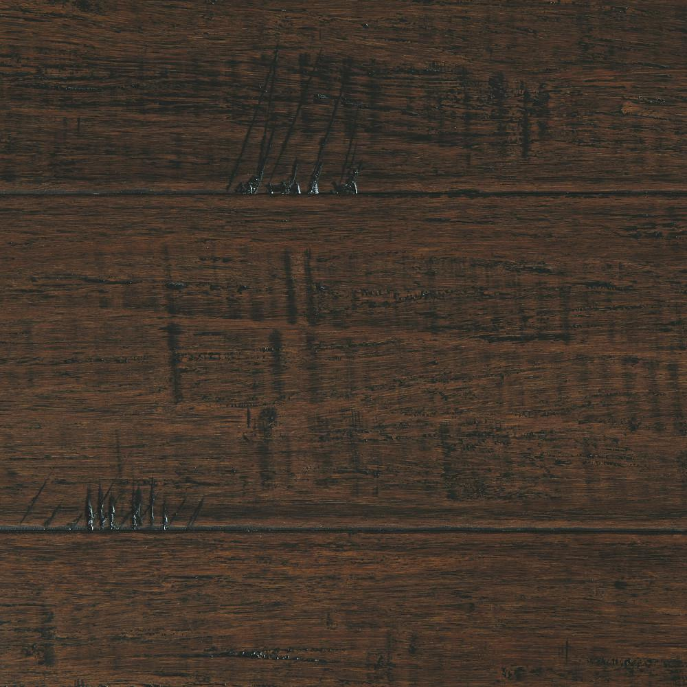 Home Decorators Collection Hand Scraped Strand Woven Wellington 1/2 in. T x 7-1/2 in. W x 72-7/8 in. L Engineered Click Bamboo Flooring