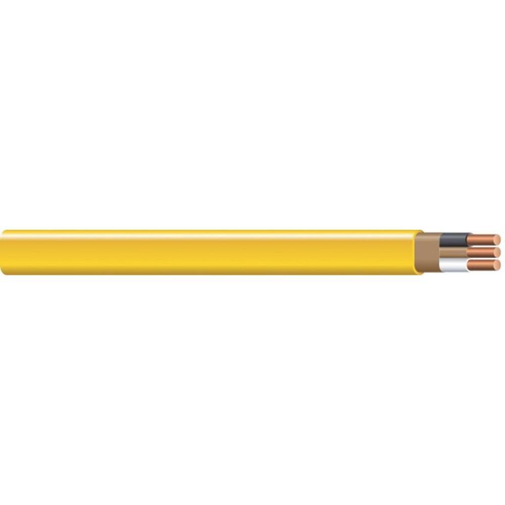 (By-the-Foot) 12/2 Solid Romex SIMpull CU NM-B W/G Wire