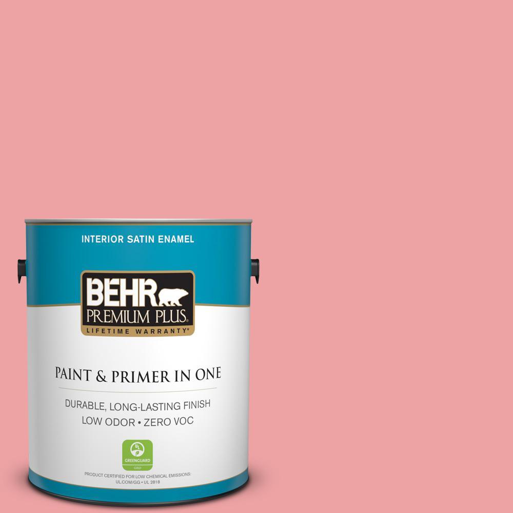 BEHR Premium Plus 1-gal. #P170-3 Infatuation Satin Enamel Interior Paint