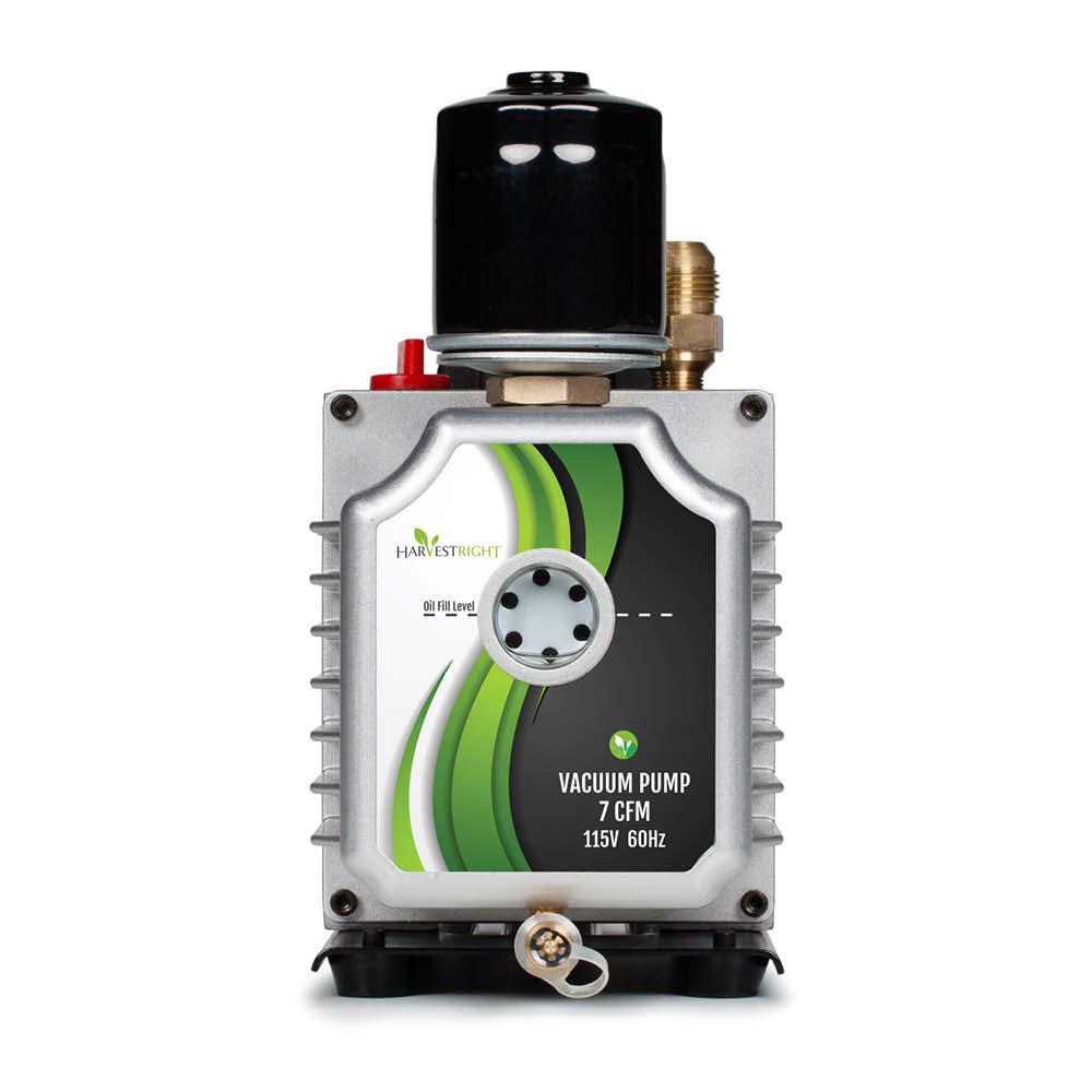 7 CFM Vacuum Pump for Harvest Right Freeze Dryer