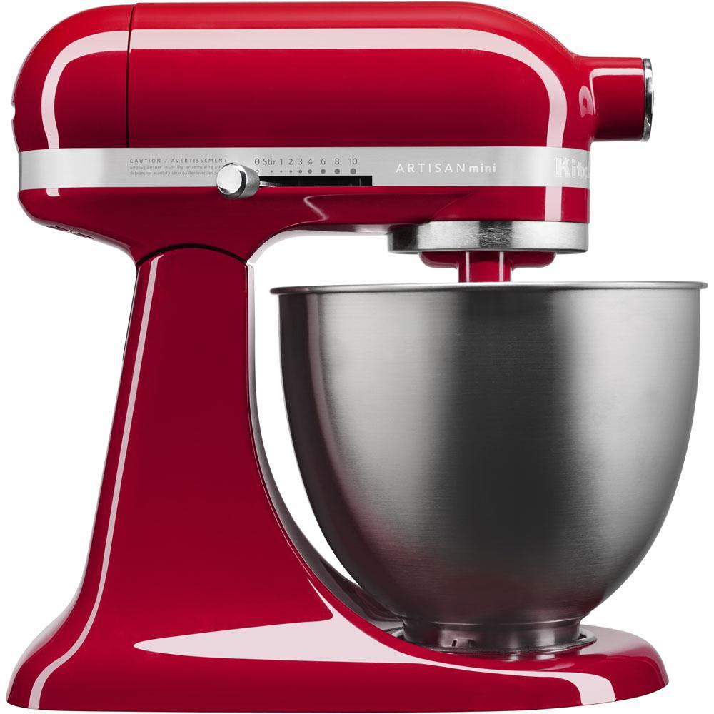 KitchenAid Artisan Mini 3.5-Qt. Tilt-Head Empire Red Stand Mixer by KitchenAid