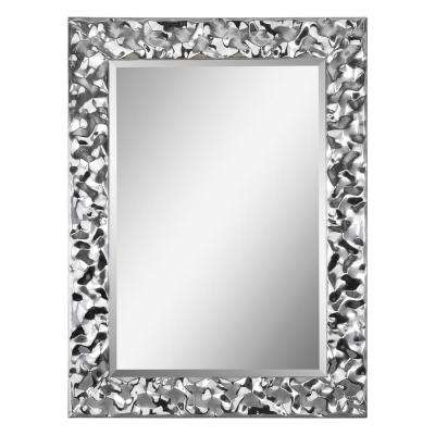 Couture 30 in. x 40 in. Framed Wall Mirror
