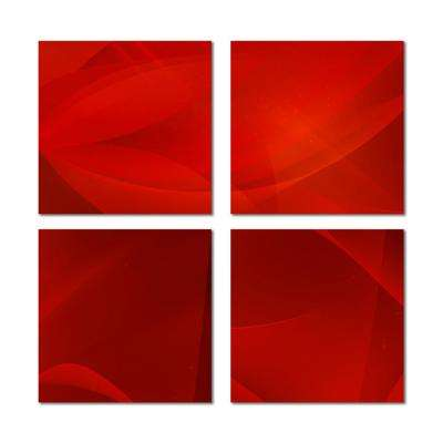 6 in. x 6 in. x 6mm Upscale Designs Crystal Beveled Glass Mosaic Wall Tile (7.8 sq. ft. / set of 32)