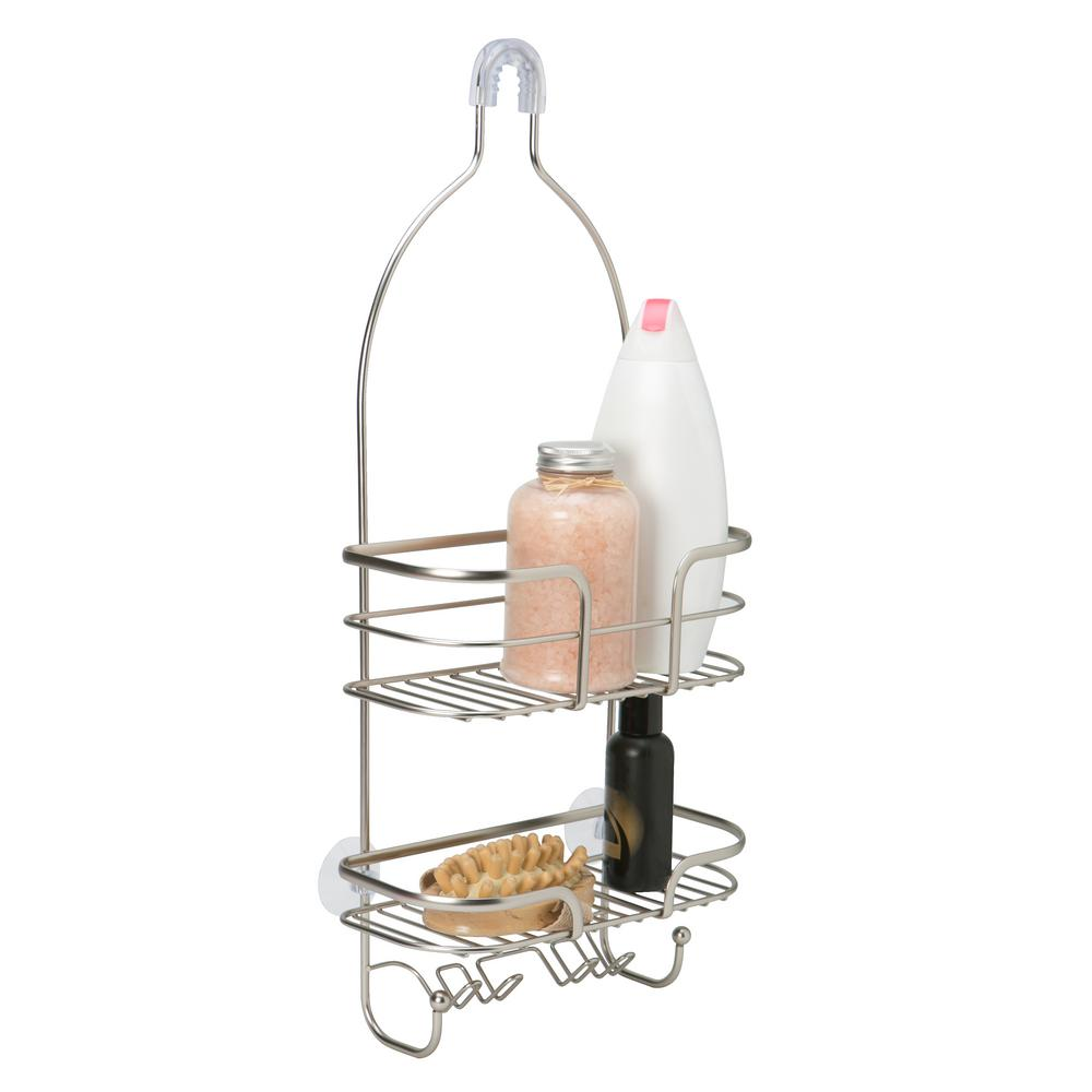 Bath Bliss Oval Wire Shower Caddy - Holland -ONYX-23385-ONYX - The ...