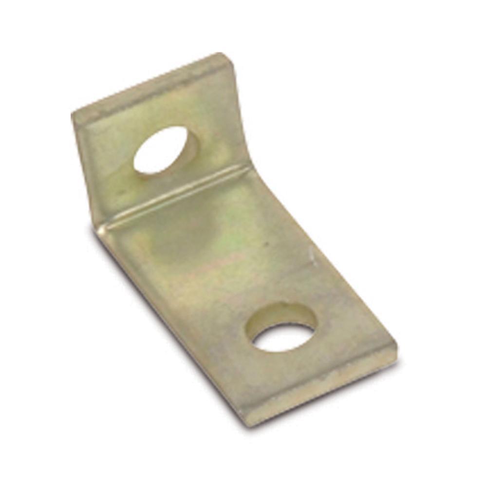 2-Hole 90° Gold Galvanized Bracket (Case of 50)