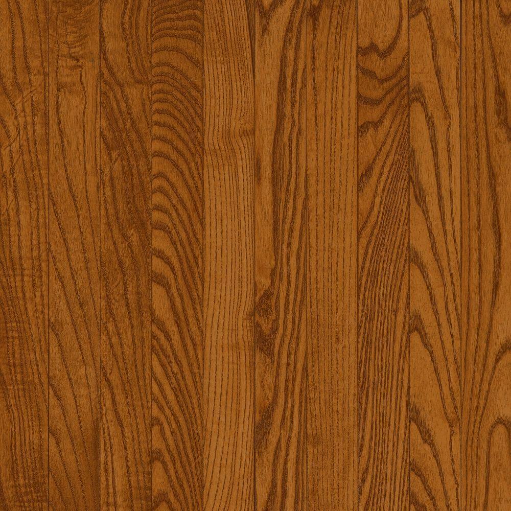 Bruce American Originals Copper Dark Oak 5/16 in. T x 2-1/4 in. W x Random Length Solid Hardwood Flooring (40 sq. ft. / case)