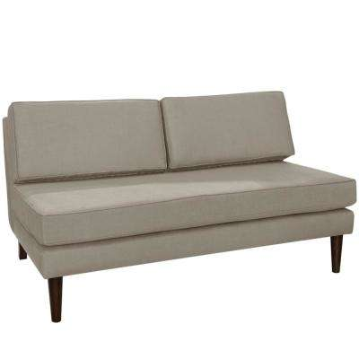 Klein Dove Armless Chaise