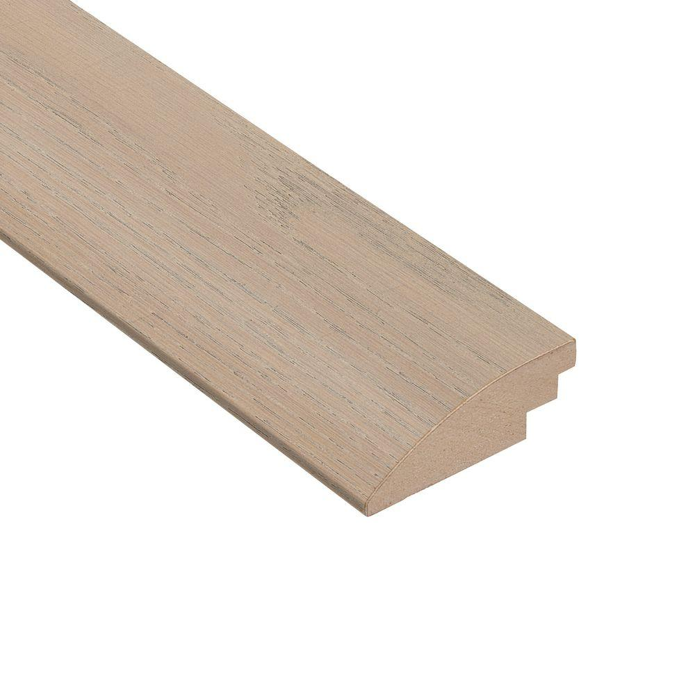 Wire Brushed Oak Frost 3/8 in. Thick x 2 in. Wide