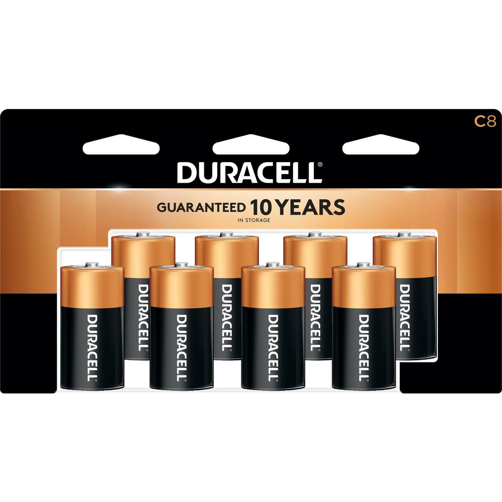 Duracell Coppertop Alkaline C Battery (8-Pack)