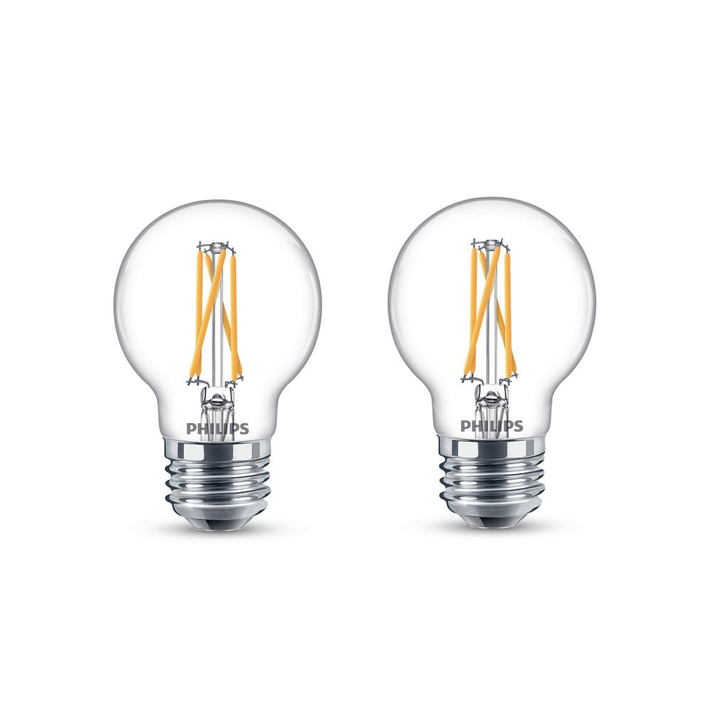 Philips 25 Watt Equivalent G16 5 Dimmable With Warm Glow