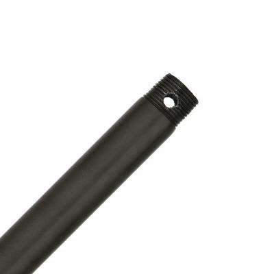 24 in. New Bronze Extension Downrod for 11 ft. ceilings