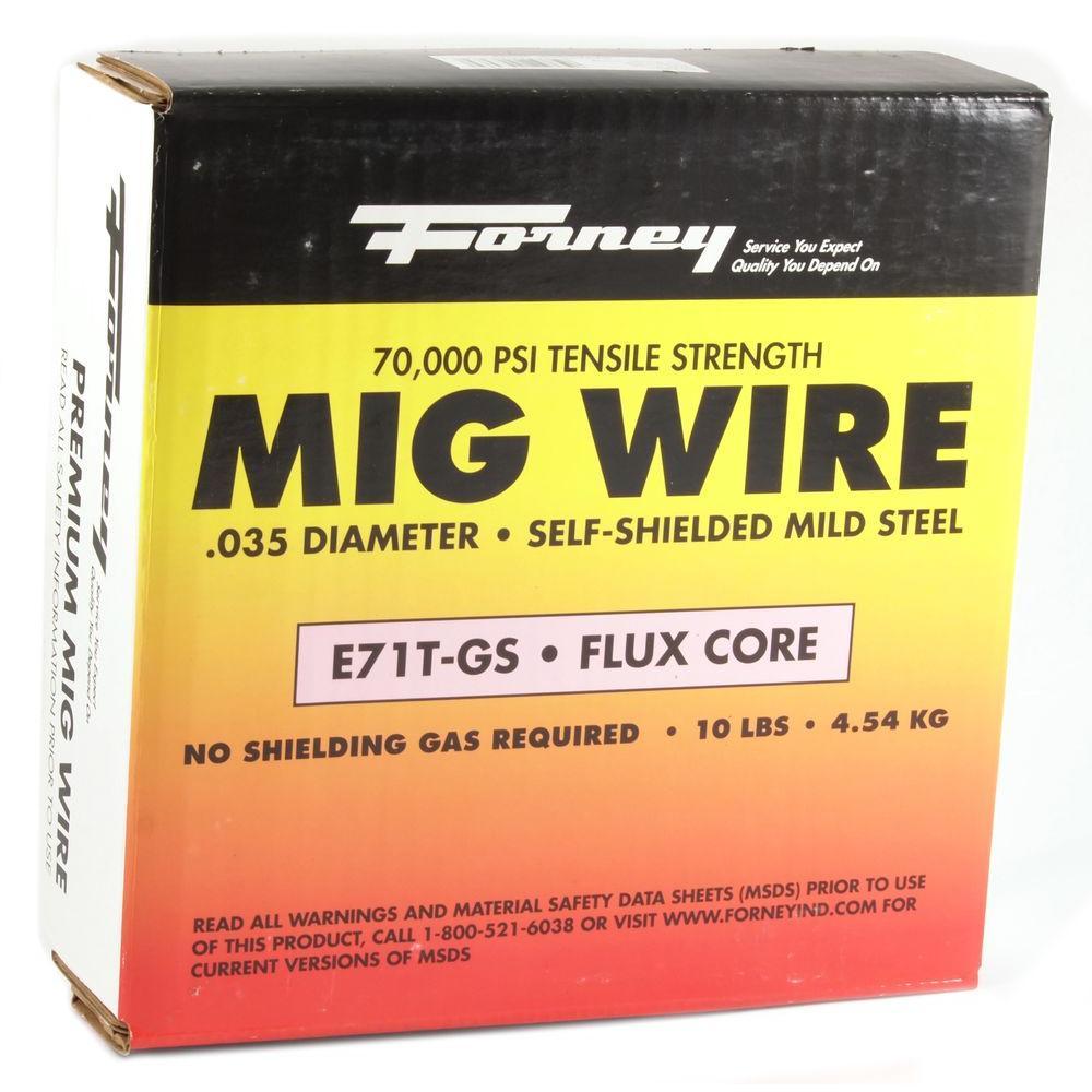 Shark 12021 Shark12021 Welding FluxCore Mig Wire E71T-GS .030-10 lbs