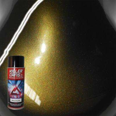 12 oz. Base Pearls Black Gold Killer Cans Spray Paint