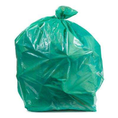 12-16 Gal. Green Trash Bags (Case of 250)