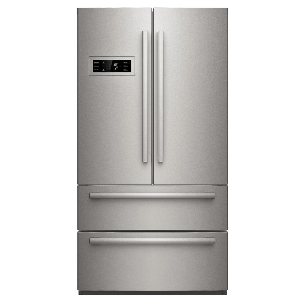 800 Series 36 in. 20.7 cu. ft. French Door Refrigerator in