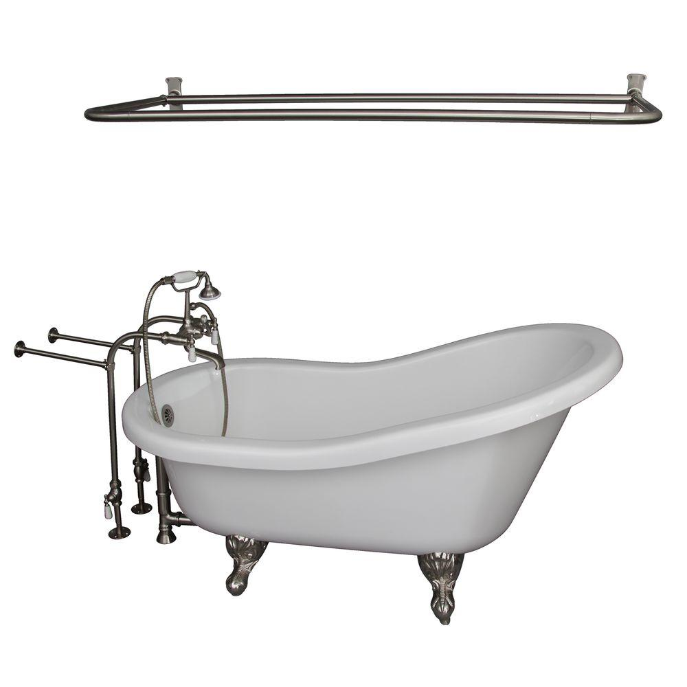 Clawfoot Bathtubs - Freestanding Bathtubs - The Home Depot