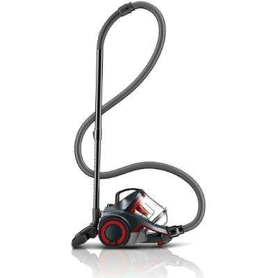DASH Multi Carpet and Hard Floor Cyclonic Bagless Canister Vacuum Cleaner