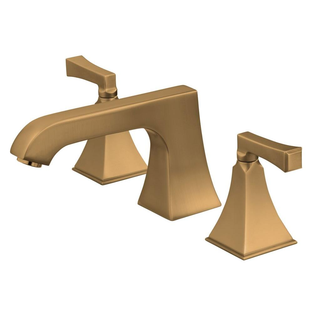 KOHLER Memoirs 2-Handle Deck-Mount Roman Tub Faucet Trim Only in Vibrant Brushed Bronze (Valve Not Included)