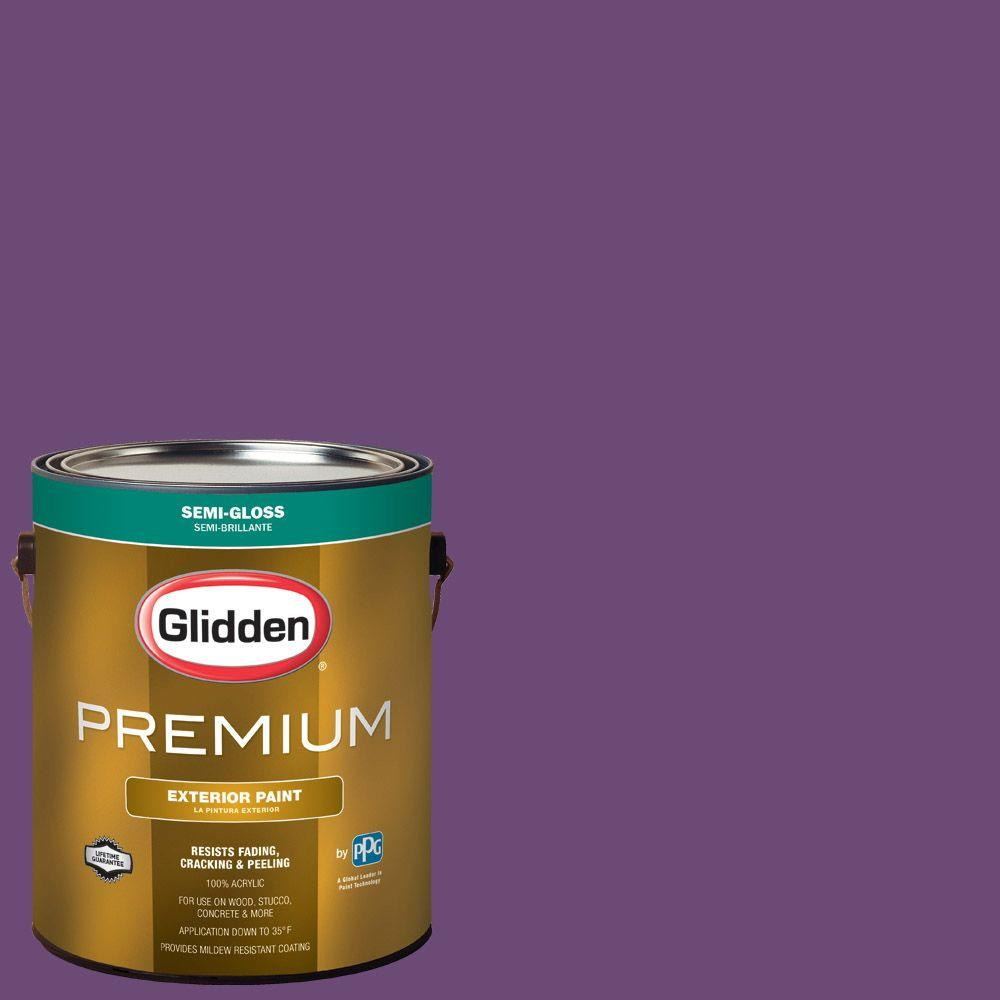 Hdgv53 Regal Purple Semi Gloss Latex Exterior Paint