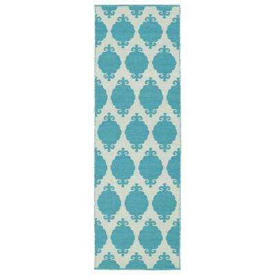 Runner - Turquoise - Outdoor Rugs - Rugs - The Home Depot