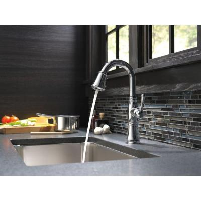 Cassidy Single-Handle Pull-Down Sprayer Bar Faucet in Chrome