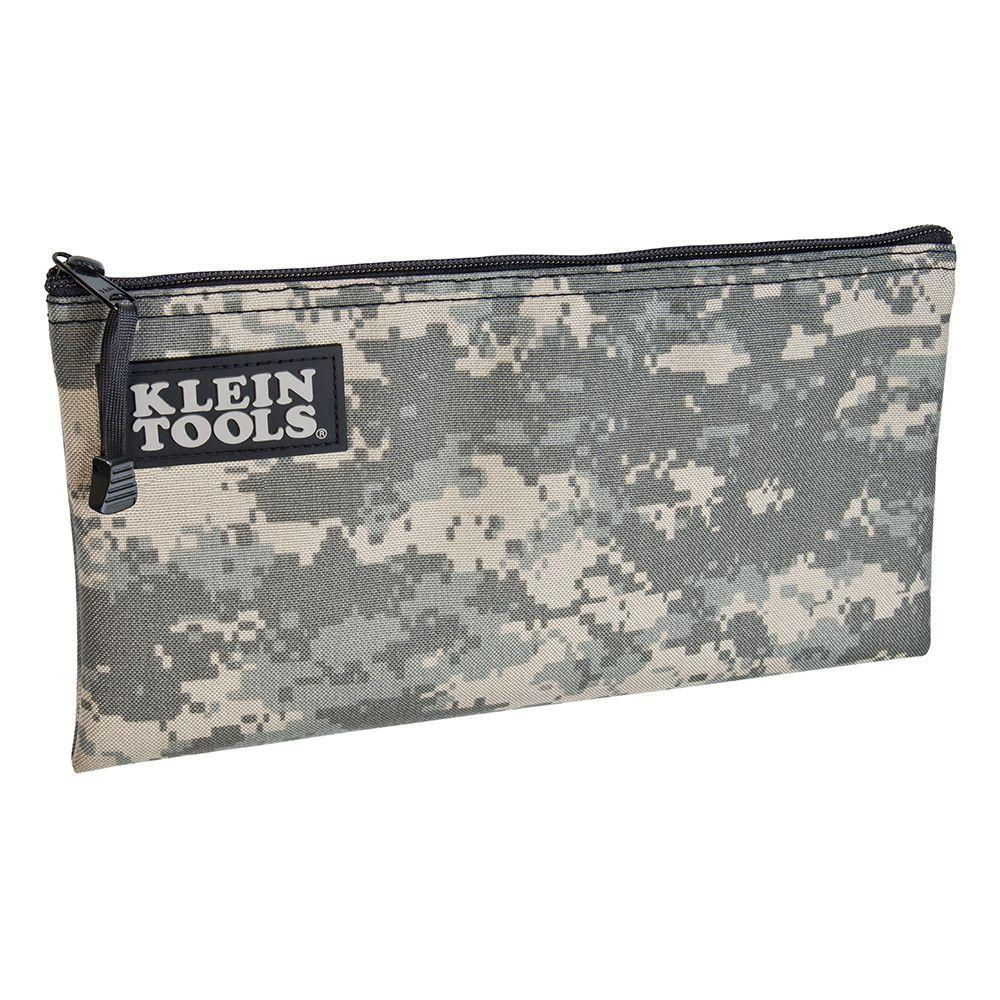 Padded Zipper Tool Bag In Camouflage