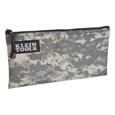 0.5 in. Padded Zipper Tool Bag in Camouflage