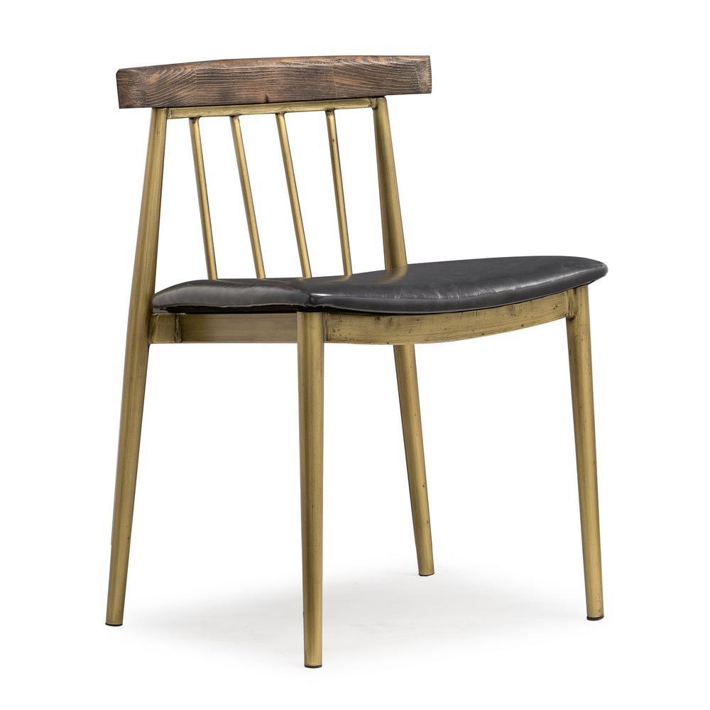 Alfie Brown Chair (Set of 2)