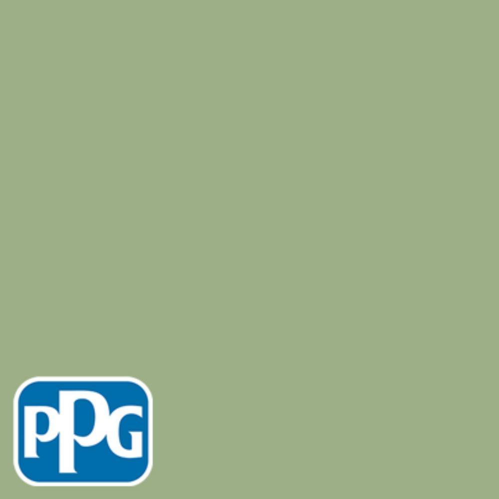 PPG TIMELESS 8 oz. #HDPPGG34D Pasture Green Satin Interior/Exterior Paint Sample